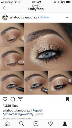 3 Zutaten Crockpot Taco Chicken - Make Up Welt - Eye-Makeup Makeup Trends, Makeup Inspo, Makeup Inspiration, Makeup Ideas, Makeup Tutorials, Blue Eye Makeup, Skin Makeup, Eyeshadow For Blue Eyes, Smoky Eye For Blue Eyes