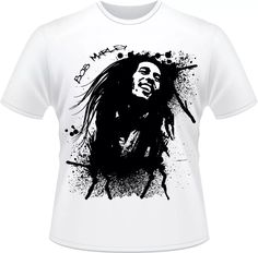 **Bob Marley** Crazy T-Shirt. More fantastic pictures, music and videos of *Bob Marley* on: https://de.pinterest.com/ReggaeHeart/