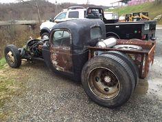 1940 Plymouth Diesel Rat Rod Pickup Cummins 5.9 12 Valve for sale ...