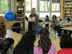 Espectáculo poético «A poesía é un globo», de Fran Alonso no CEIP Manuel Suárez Marquier (O Rosal).