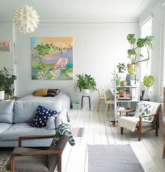 A creative Helsinki home with a cheerful vibe / Salja Starr - Cosy Home.