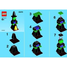 LEGO Witch Set 40070 Instructions