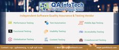 Having an Independent QA Testing Vendor is always an advantage, some of the factors which influence companies to outsource testing to an independent testing team includes: 1. Unbiased quality assessment 2. Flexibility of resource ramp-up and ramp-down in quick time 3. Improved time-to-market 4. Transparent work-flow 5. Cost savings QA InfoTech has emerged as one of the most trusted Independent QA Testing Vendor assuring the quality. To know more visit http://qainfotech.com