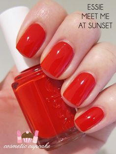 Essie - Meet Me at Sunset. It's actually a little more orange-y though.