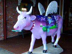 Cows on Parade - Flossie the Mooth Fairy
