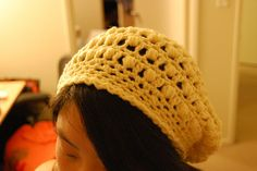 Pretty Puffs Slouchy Hat By Jessica Suzanne - Free Crochet Pattern - (ravelry)