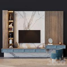 Bedroom Lamps Design, Wall Unit Designs, Living Room Partition Design, Living Room Tv Unit Designs, Tv Cabinet Design, Tv Wall Design, Modern Tv Room, Wood Tv Unit, Tv Unit Interior Design