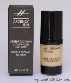 Ardency Inn AMERICANA Custom Coverage Concentrate, A Beauty Do-ALL - My Newest Addiction Beauty Blog