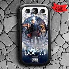 The Time Of The Doctor Who Samsung Galaxy S3 Black Case