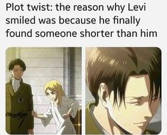 Otaku Diary is the number 1 source of anime related news and other cool articles for otakus. Attack On Titan Meme, Attack On Titan Ships, Levi X Eren, Armin, Levi Ackerman, Aot Funny, Funny Memes, Levi Memes, Angel Of Death