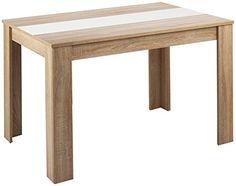 Cavadore 80252 Tisch Nico Moderner Esstisch Mit Wendbarer Melaminplatte In Schwarz Weiss Melamin
