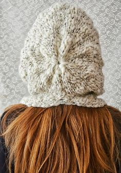 Hand knitted hat Autumn /Winter
