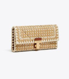Visit Tory Burch to shop for Juliette Rattan Clutch and more Womens Mini Bags. Find designer shoes, handbags, clothing & more of this season's latest styles from designer Tory Burch. Latest Styles, Tory Burch Bag, Luxury Handbags, Clutch Purse, Evening Bags, Rattan, Designer Shoes, Purses And Bags, Latest Fashion