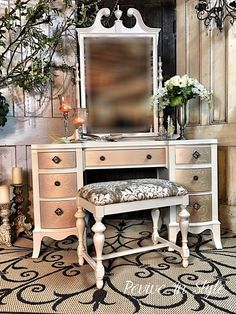 Great vanity makeover by Revive in Style.