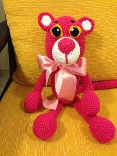 Pantera cor de rosa! Linda!