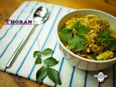 Vegetable thoran with carrot.