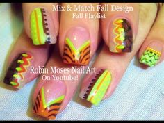 45 best thanksgiving nail art designs and tutorials images on fall leaves fall nail art fall nails easy fall leaves fall designs autumn nails autumn nail art diy fall nail art designs tutorial robin moses solutioingenieria Images
