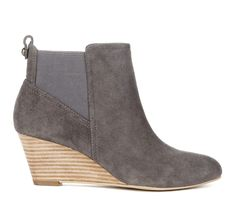 """Cute Grey Booties, These would be so cute with Black Jeans Sole Society """"Addison"""""""