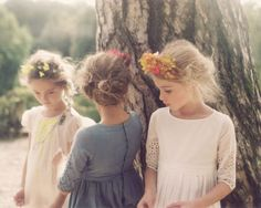 Broderie Anglaise Flowergirls