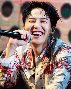 Love seeing him happy! Our precious leader GD