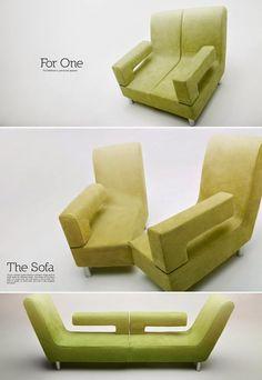 Que incorpora dos maneras de sentarte