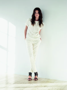 With white being a perennial colour choice this spring, style white separates together for a fresh take.