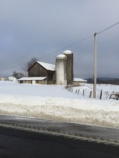 Another farm with a silo