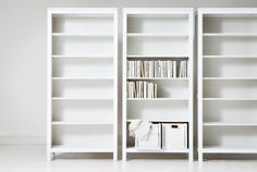 Large White Bookcase wall units, ikea bookcases white bookshelf: best white book shelves OPSBODW - Home Decor Ideas Dvd Regal, Billy Regal, Ikea Office Storage, Home Organization, Libreria Billy Ikea, Ikea Hemnes Bookcase, Ikea Expedit, Ikea Shelves, Book Shelves