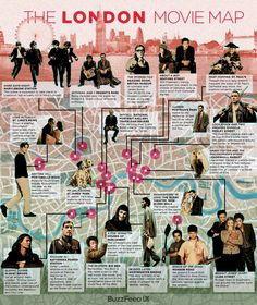 Explore the  London Movie Map