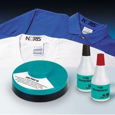 Noris 320 speciale textielinkt. Te gebruiken in combinatie met een handstempel