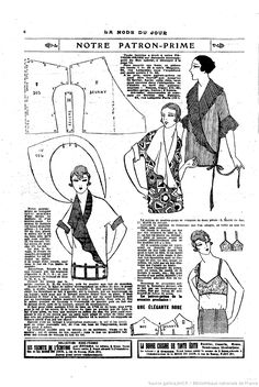 modèle de robe de couture vintage libre - Sewing for the Person Who Doesn't Like to Sew (Get Me Started Again) - 1920s Dress Pattern, Vintage Dress Patterns, Dress Sewing Patterns, Clothing Patterns, Skirt Patterns, Pattern Sewing, Coat Patterns, Blouse Patterns, Vintage Dresses