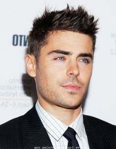 mens short spiky hairstyles - Google Search
