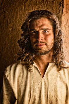 "Diogo Morgado as Jesus in ""The Bible"" miniseries #shallnotwant #prayforme -- Alanna"