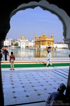 The Golden Temple in Amritsar, India by Oliver Ross