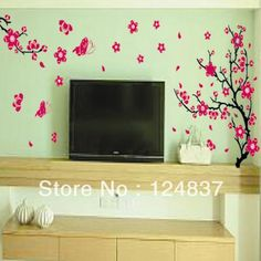 Artistic Flower Wall Mural Design For Girls Room Can I Do This