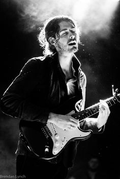Hozier. You can see the soul pouring from him...his dad was a blues singer too? Take me to church....