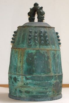 Edo period Bronze Zen Buddhist Temple Bell, 1686. Very similar to the fire bell I bought