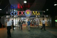 Coex Mall, Seoul, South Korea. Line 2 to Samseong, Coex Exit. This vast underground maze of a mall is a top shopping and entertainment attraction that incorporates food courts, a department store, four hotels, the COEX Convention Centre, World Trade Centre and much more. The COEX Aquarium is the largest in Seoul, with thousands of fish and other sea creatures in 90 tanks. Don't miss the Kimchi Museum.