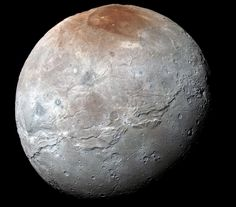 Charon biggest moon of Pluto