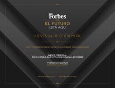 Toda la información del #ForoForbes2015 la encuentras aquí. http://foroforbes.com/