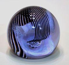 CAITHNESS Art Glass PAPERWEIGHT - TRAPEZE