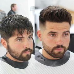 50 Barber Pages to Follow for Hairstyle Inspiration. Acconciature Con  CiuffoTagli Di Capelli ... b27034ffbf6f