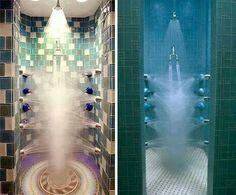 Multi shower headed showers