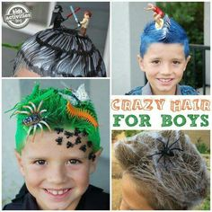 Crazy hair day ideas