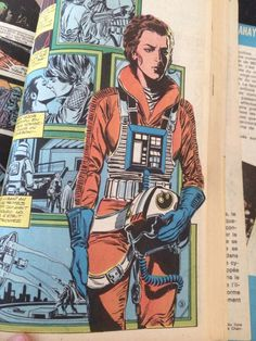 nerdyorkcity:  Gorgeous Rebel Pilot Princess Leia art from a 1980s French Star Wars comic