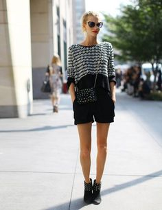Poppy Delevigne wearing all Sass & Bide. #Fashion Week Street Style