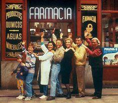 Farmacia de Guardia. Excelente serie española. ¿Os acordáis de Kike y Guille?