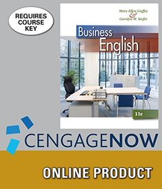CengageNOW+for+Guffey/Seefer's+Business+English,+11th+Edition