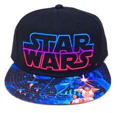 new STAR WARS SNAPBACK HAT Black/Blue/Pink Men/Women/Teen Luke Skywalker Vader #StarWars #BaseballCap