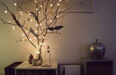 5 ideias de árvores de Natal alternativas